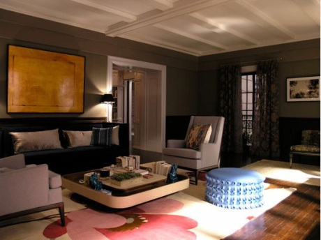 Carrie and big 39 s apartment archives desmitten design journal - Carrie bradshaw apartment layout ...