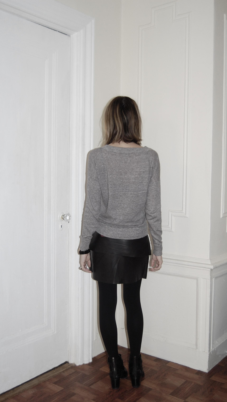 Christina DeSmet Angular Leather Skirt Design - Project de
